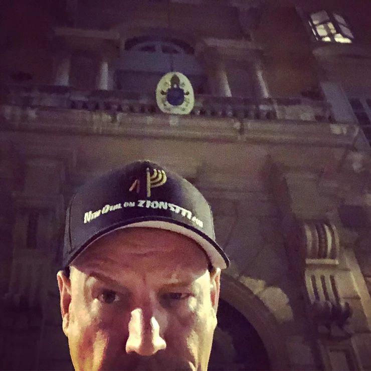 Ulf vor dem Vatikan - 19.1. bis 22.1.2019
