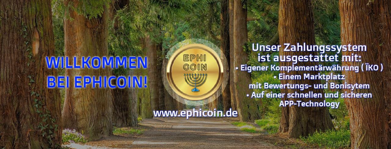 EPHICOIN - Komplementärwährung (IKO) der Nation Ephraim